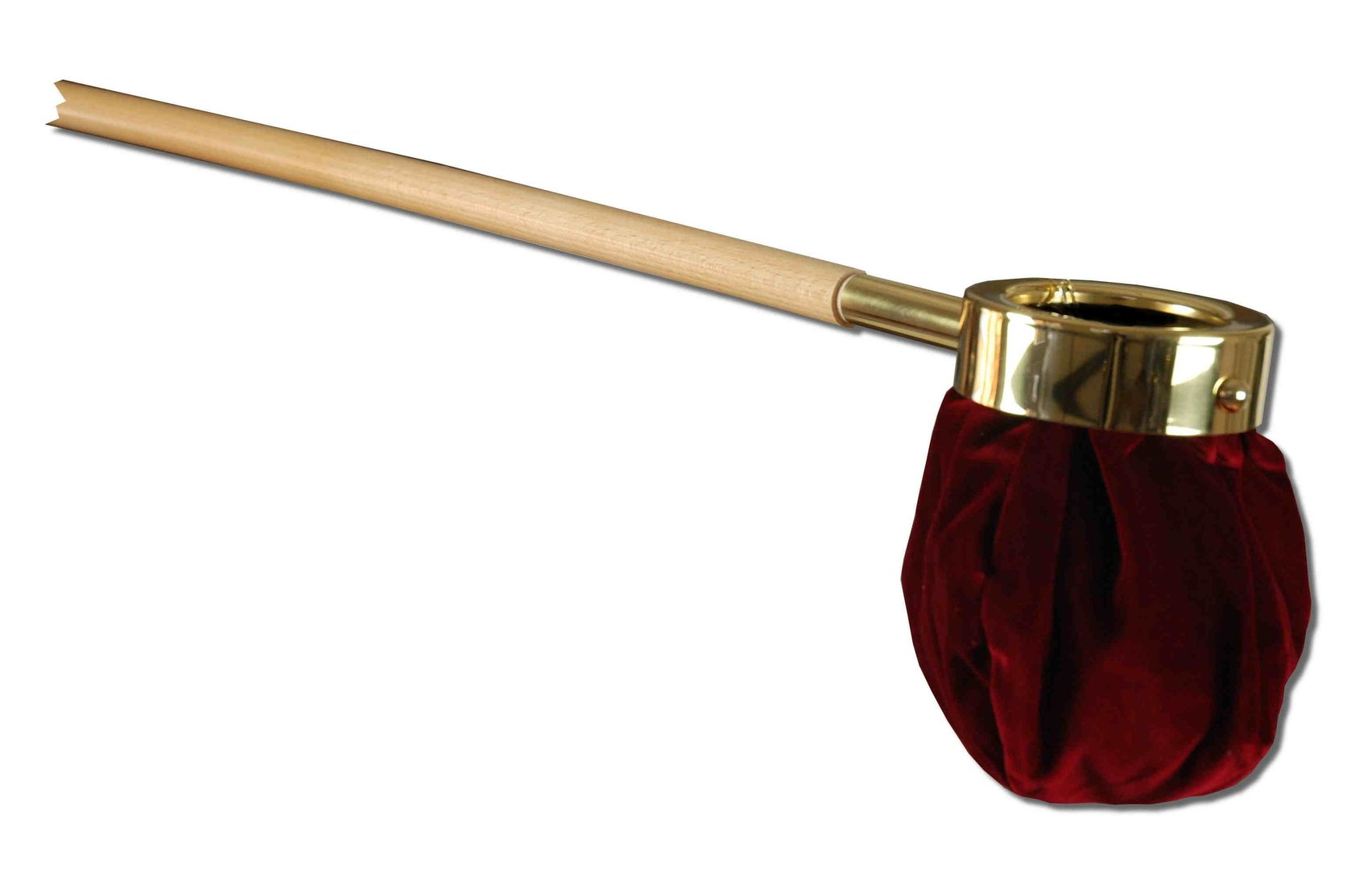 Rohrsen-brass-design - offering bag with long grip Offering Bags
