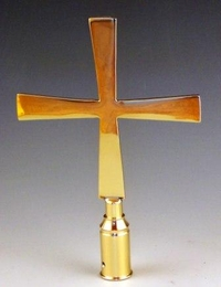 Ornamental cross smooth