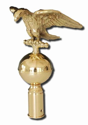 Flagpole ornament eagle