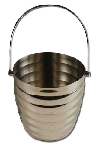 Holy water bucket of stainless steel